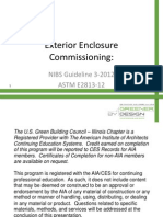 Room B Session 2 Exterior Enclosure Commissioning NIBS Guideline 3 2012 and ASTM E2813 12