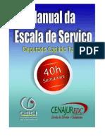 Manual Escala de Serviço PMBA