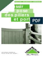 La pose des piliers et portail.pdf
