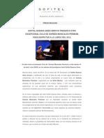 20120319 Pr Sofitel Buenos Aires Arroyo Presenta Otro Excepcional Ciclo de Soirees Musicales Premium Disfrutar a Lo Largo Del 2012