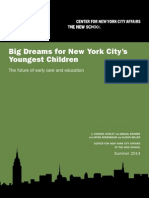 Big Dreams for NYs Youngest Children