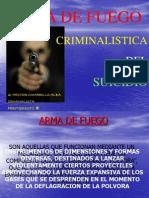 Criminalistica Del Suicidio Por a. Fuego 1