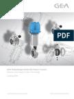 GEA Tuchenhagen - Catalog 2014 - Butterfly Valves T-smart PDF