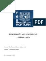 Ensayo Linguistica Paola Minutti