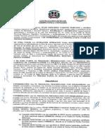 Convenio entre GCPS/Prosoli y FUNOBE