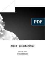 Bound - Critical Analysis