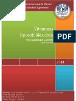 Vitamin as Lipo Soluble s