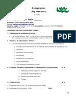 ENCUADRE 2014-2 Refrigeracion