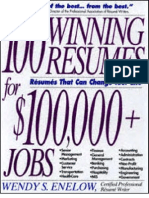 Award Winning Resume