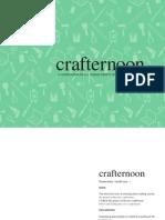 Crafternoon Book Design
