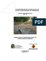 Manual Para Inspeccion Obras de Drenaje Desprot