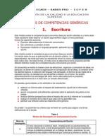 1. Pruebas Ecaes-Saber Pro. Características Prueba de Escritura
