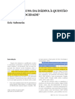 Marcel Mauss - da dádiva à questão da reciprocidade.pdf