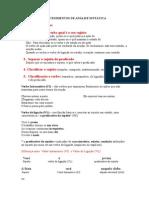 Atividade Verbos Transitivos e Intransitivos Analse Sintatica