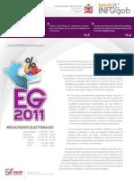 Elecciones presidenciales 2011 1ra vuelta.