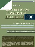 Diapositiva Del Tema Uno.- Delimitacion Conceptual Del Dere