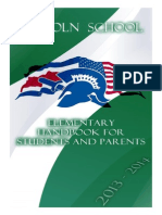 elementary handbook student - parents 2013-2014 final 2