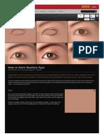 Linda Bergkvist -How to Paint Realistic Eyes