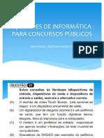 Instituto Beijamim Constant Questões de Informática Para Concursos Públicos