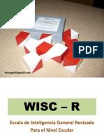 2 Clase Evaluacion Psicometrica Wisc r 1223146044551958 8