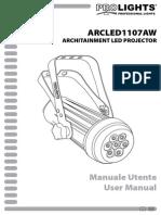 ARCLED1107AW_manuale