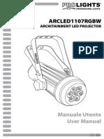 ARCLED1107RGBW_manuale