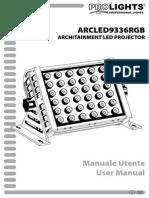ARCLED9336RGB_manuale