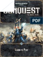 Learn to Play 40 k Conquest