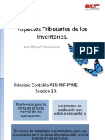 Aspectos Tributarios de Los Inventarios.
