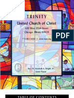 Trinity United Church of Christ Bulletin June 25 2006