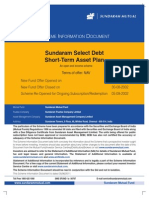 Sundaram Select Debt ST-AP SID Sep2011