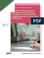 Boletín Actualidad Corporativa N° 11 - Contrato de Fiel Cumplimiento Para Operaciones Cambiarias