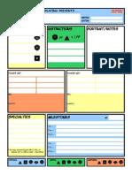 MHR Fourcolor Sheet Blank
