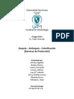 Asepsia-Antisepsia-Esterilización