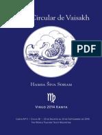 05 - Carta Circular de Vaisakh - Virgo 2014