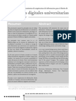 Bibliotecas digitales universitaras