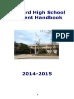 MHS Student Handbook 2014-15