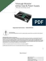 Pittsburgh Modular Cell 48 Manual