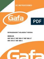Manual Heladera HGF2013