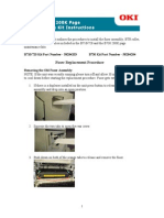 B700 Series Maintenance Kit Instructions