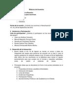 Bitacora de Acuerdos Fase 2