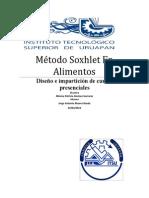 Curso Método Soxhlet en Alimentos (1)