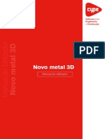 Manual Do Utilizador Metal 3d Cypecad