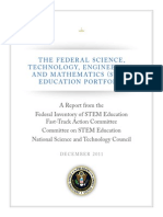 Costem Federal Stem Education Portfolio Report 1(1)