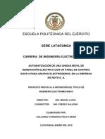Tesis Puesta en Paralello o Sincronizacion de Generadores