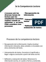 Procesos de La Competencia Lectora 2
