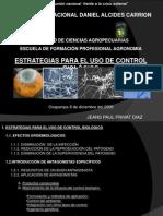 Estrategias Para El Uso de Control Biologico