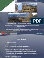 Patrimonio Geologico Del Peru