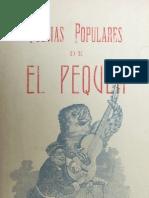 """Poesias Populares de La Guerra Del Pacifico """"El Pequen"""""""