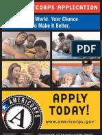 Americorps Application